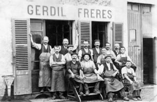 Corroirie Gerdil, Place du bourg de Merlia, à Orgelet