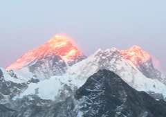 Mt. Everest at Sunset (2) | by everlutionary