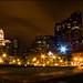 Centro de Boston de noche