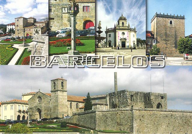 Barcelos, Portugal Multi-view Postcard