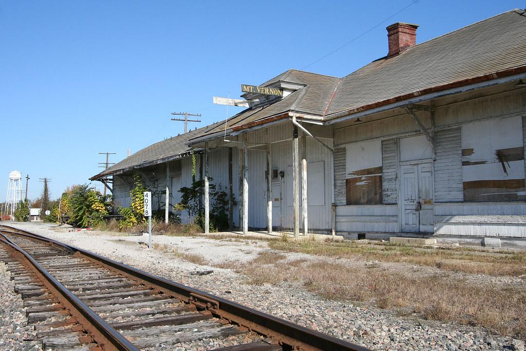 Mt Vernon, IL Train Depot