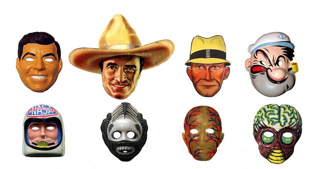 Halloween Masks Vintage 0141