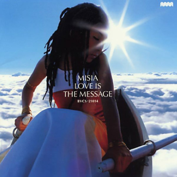 Image result for misia love is the message cover