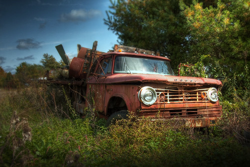 old abandoned trash photoshop truck ma junk rust rusty forgotten rotten oldtruck hdr highdynamicrange townsend patrickcampagnone