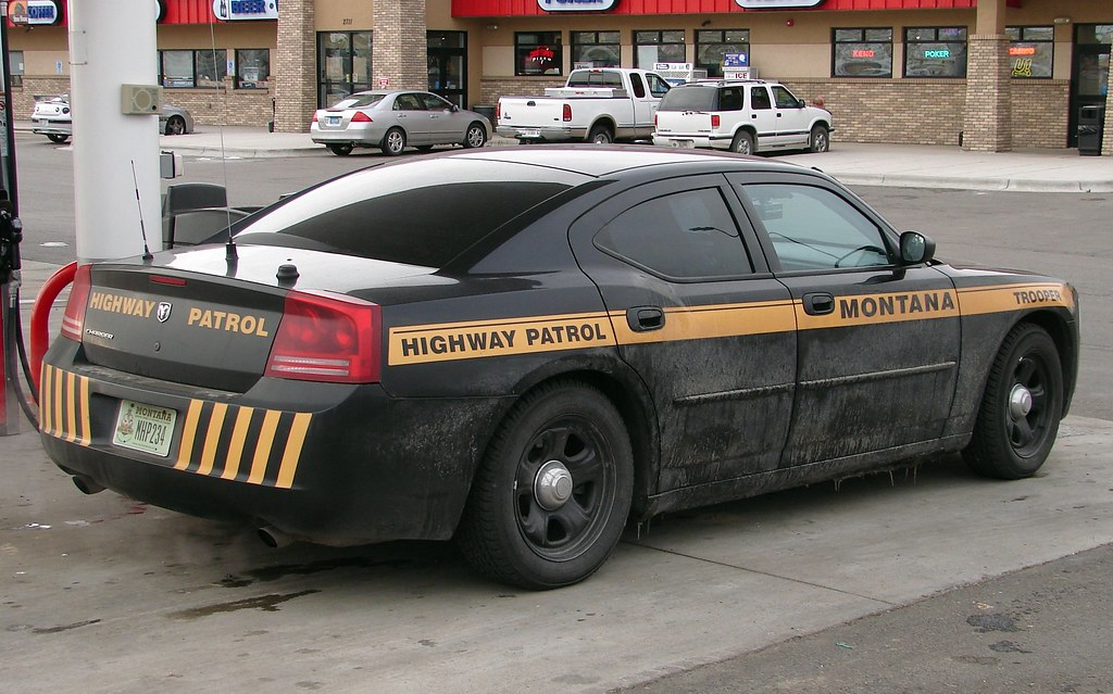Montana Highway Patrol Montana Highway Patrol 2007 Dodge