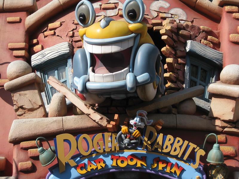 Roger Rabbit's Cartoon Spin