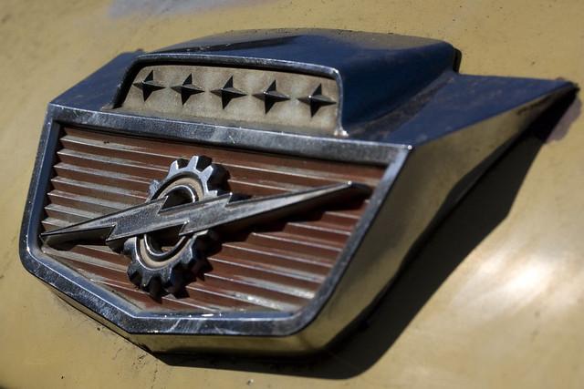 Coolest hood ornament to grace a truck.