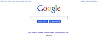 New Google Home Page 112609 | by TopRankMarketing