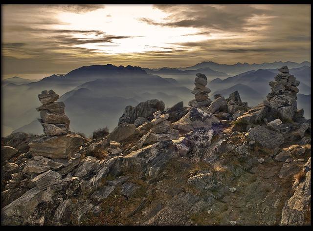Feel- Switzerland Ticino Cima della Trosa (Switzerland a view to Italy ( Centovalli ) )
