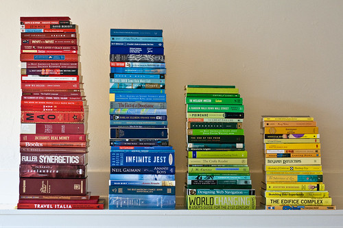 Book-Color Histogram. | by Patrick Gage