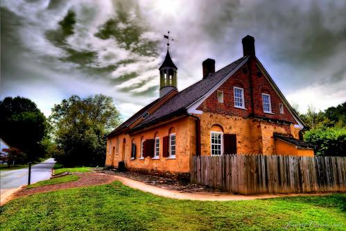 sky sun clouds northcarolina moravian hdr winstonsalem gemeinhaus historicbethabarapark jeanetterunyon
