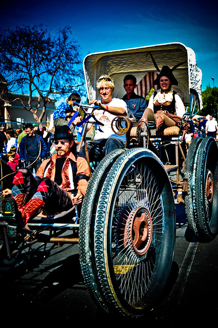 Maker Faire : Out for a spin