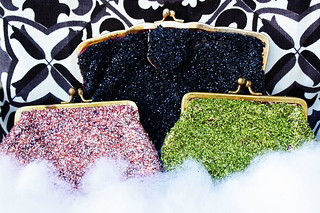 Glitter Clutch How To | by ohsohappytogether