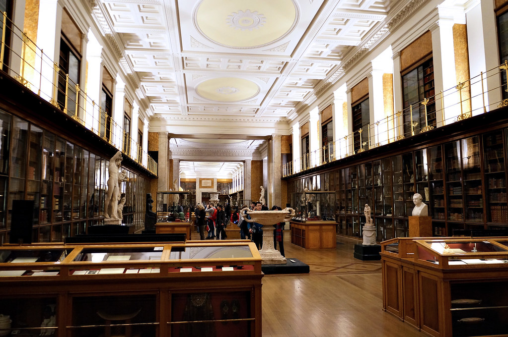 The Enlightenment Room | The British Museum | a.canvas.of.light | Flickr