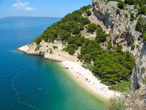 beach croatia nudist naturist croazia fkk tucepi nugal