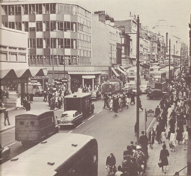 Market Street, Manchester, UK - c1960