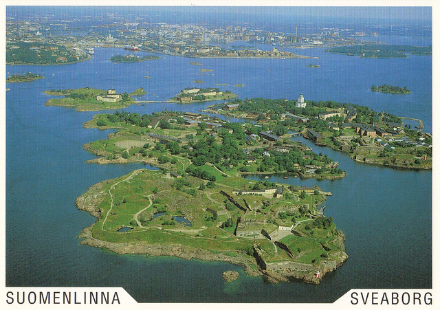 UNESCO Helsinki Seafortress Postcard