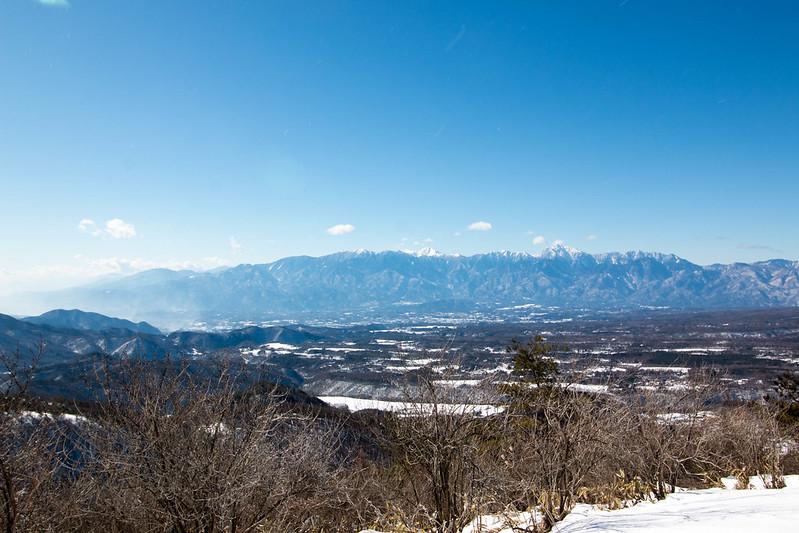飯盛山から南アルプス