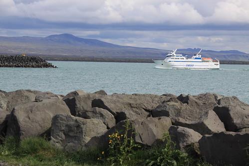 Eimskip Ferry to Heimaey, Þorlakshofn (Porlakshofn) | by ChrisGoldNY