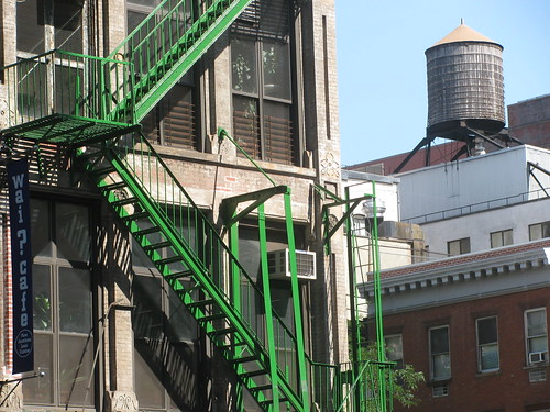 Green Fire Escape | by edenpictures