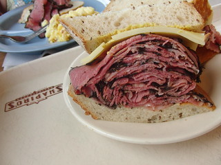 Pastrami sandwich from Shapiro's deli in Indianapolis. Even better than it looks. Promise. | by mooshinindy