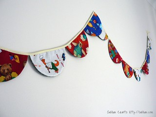 2-in-1 Bunting - Christmas & Kid's Party | by :Salihan