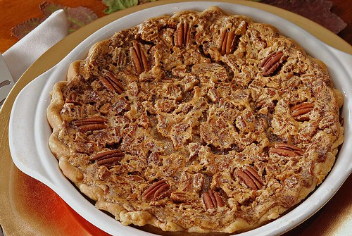 plain pecan pie whole.jpg | by Salad in a Jar