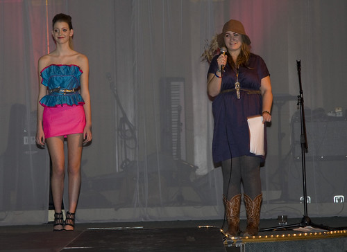 Catwalk show & Auction at Oxfam make do & mend event | by theboybg