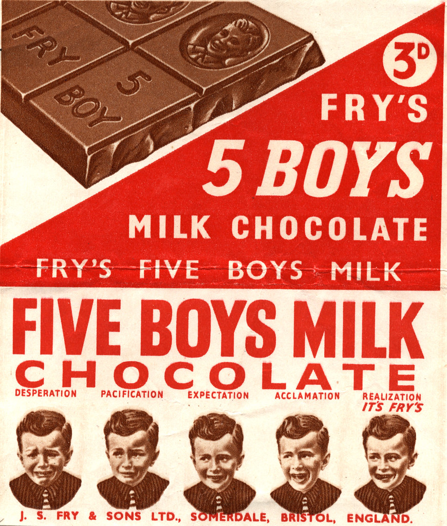 Tuck Box Week 6 Five Boys This Was Possibly My Favourit