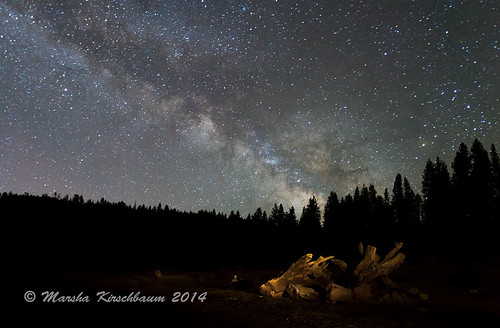 Milky Way at Pinecrest Lake II