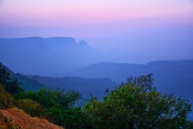 India - Maharashtra - Western Ghats - View From Matheran Hill Railway - 63d