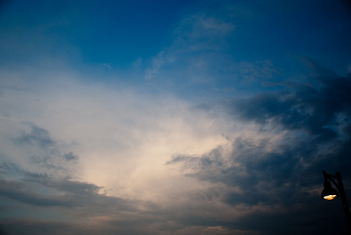 blue sunset sky sun david tree night clouds cloudy center tennis batonrouge lamar ymca lyle