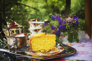 * cake and tea | by mckinleyrodgers