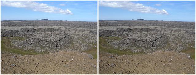 3D Lava Plain Near Grindavik