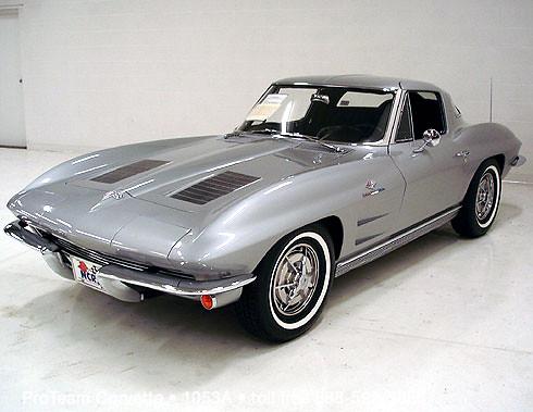 1963 corvette split window coupe  327 360 hp 1963