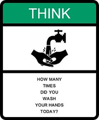 Think: How many times did you wash your hands today? | by circulating