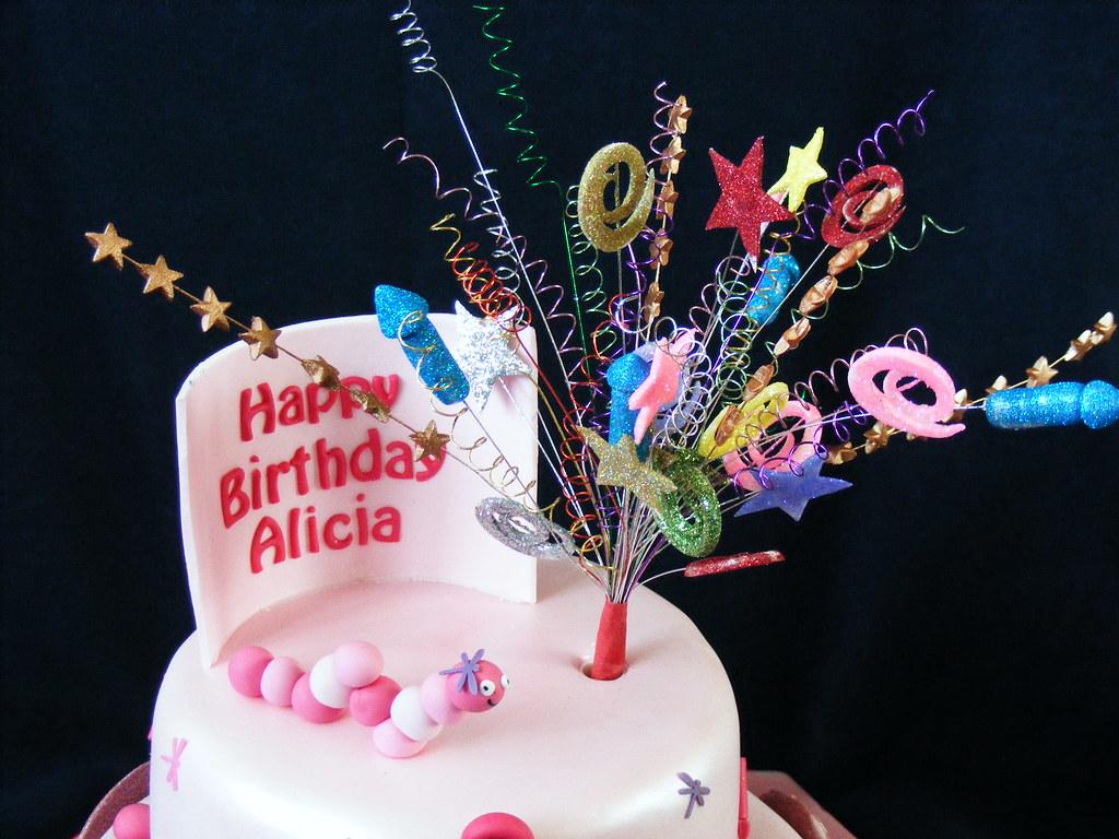 Admirable Fireworks Birthday Cake Zoe Mcdonagh Flickr Funny Birthday Cards Online Bapapcheapnameinfo