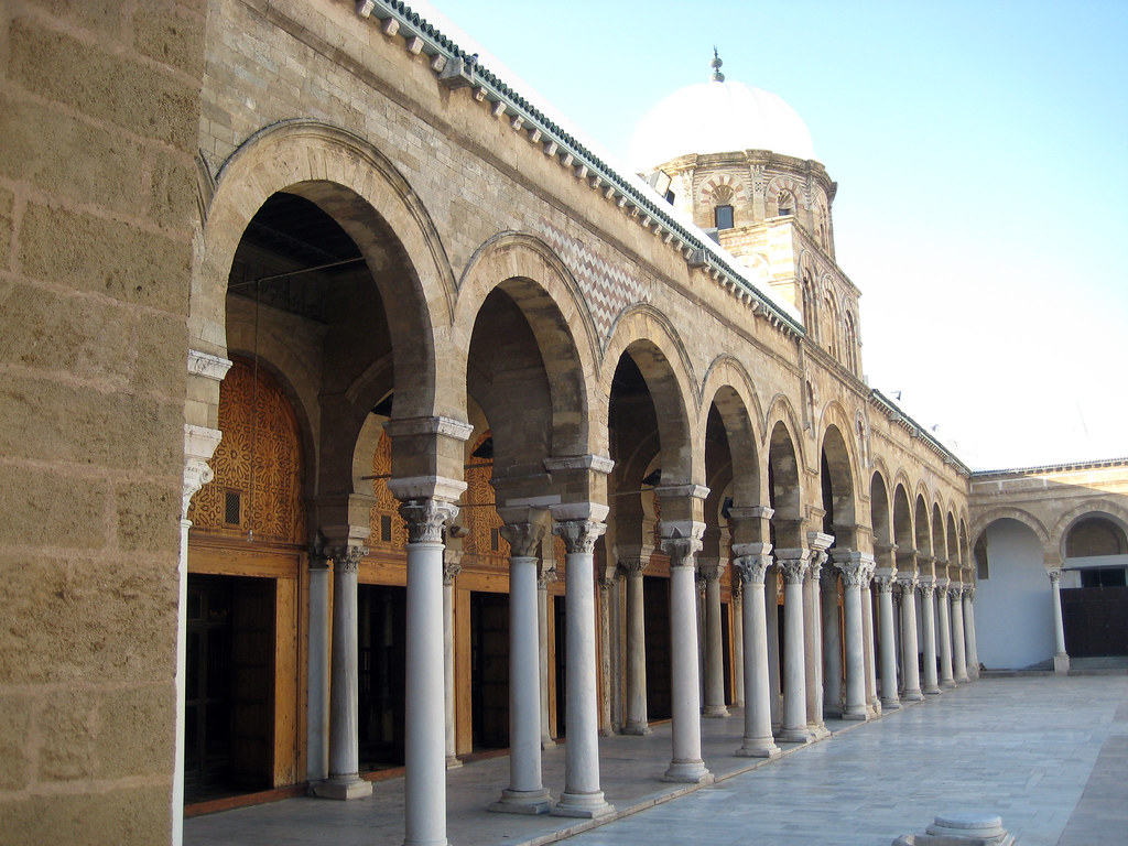 Tunis Tunisia Zaytuna Mosque Grande Mosqee Medina It Flickr