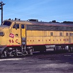 Milwaukee Road FP7A 96C, Bensenville, IL