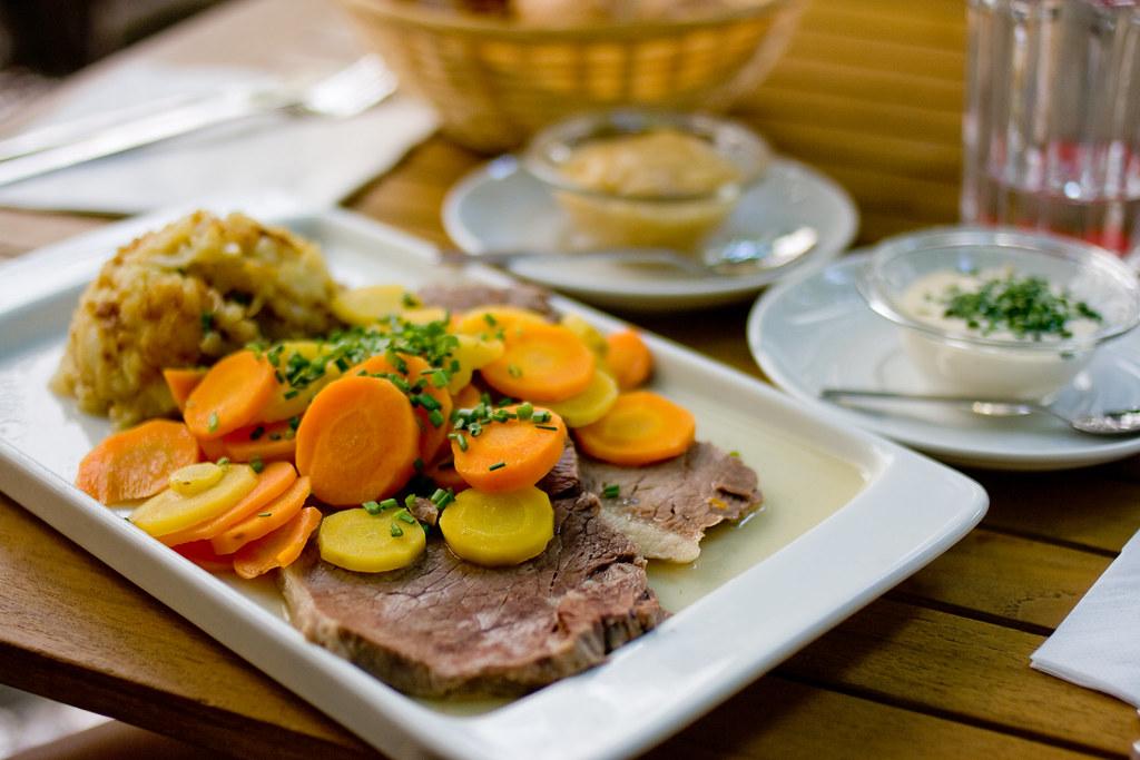 Tafelspitz: Austrian beef dish