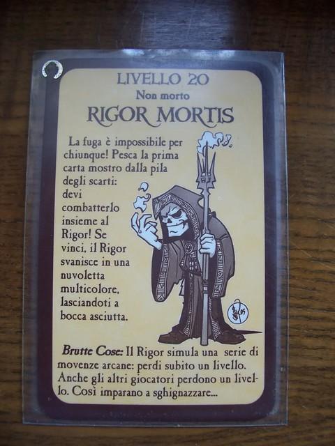 Rigor Mortis | Italian Munchkin Promo