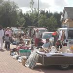 Rommelmarkt in de Kronkelweg (Vissenaken), 30 aug 2009