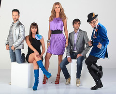The judges of Mexico´s Next Top Model