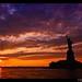 Lady Liberty @ Sunset by odessit40