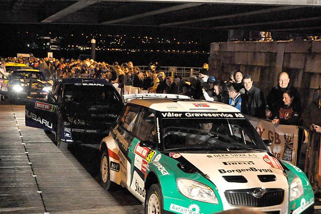 Rally GB start 6