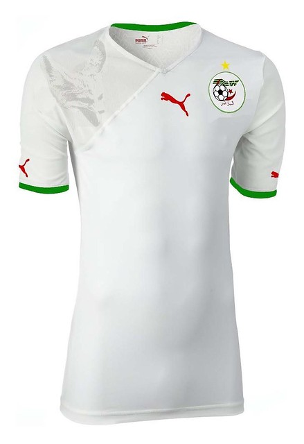 The Algerian Football Team New T Shirt By Puma This Is The Flickr