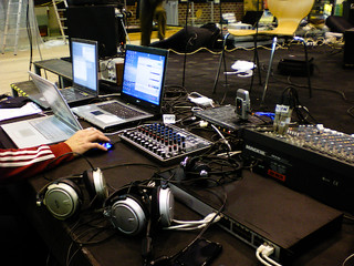 studi desk, capturing sound & broadcasting | by radioCona / Cona Institute For Contemporary Arts