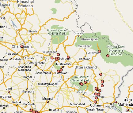 Google Maps in US India Border | How Google Maps handles dis ...