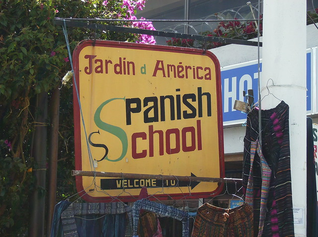 learn spanish lake atitlan