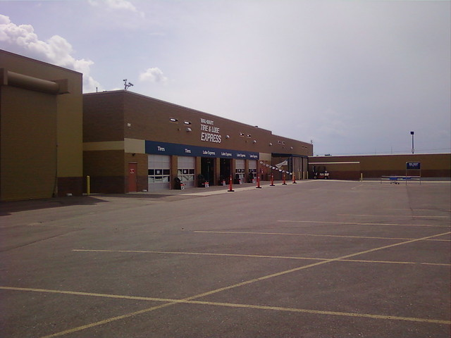 Wal Mart Faribault Mn Tire Amp Lube Express A Photo